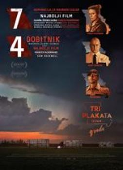 <b>Jon Gregory</b><br>Tri plakata izvan grada (2017)<br><small><i>Three Billboards Outside Ebbing, Missouri</i></small>