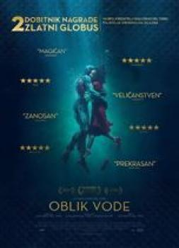 <b>Guillermo del Toro</b><br>Oblik vode (2017)<br><small><i>The Shape of Water</i></small>
