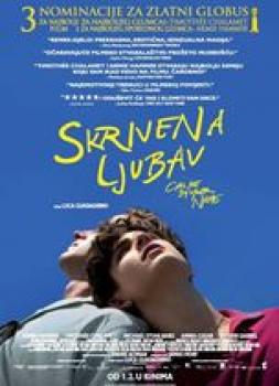 <b>James Ivory</b><br>Skrivena ljubav (2017)<br><small><i>Call Me by Your Name</i></small>