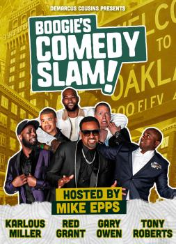 DeMarcus Cousins Presents Boogie's Comedy Slam