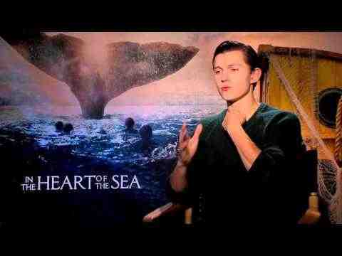 In the Heart of the Sea - Tom Holland Interview