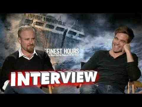 The Finest Hours - Chris Pine and Ben Foster Interview