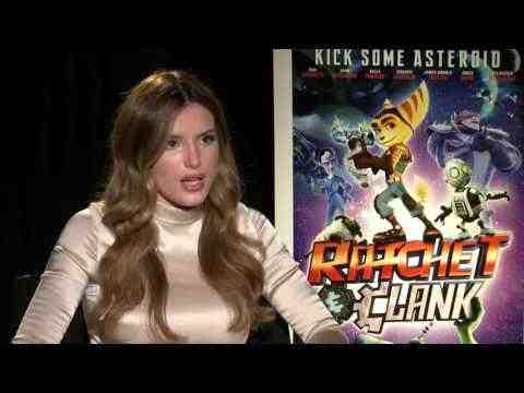 Ratchet and Clank - Bella Thorne Interview