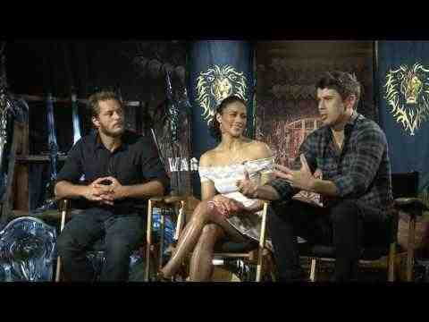 Warcraft - Travis Fimmel, Paula Patton, & Toby Kebbell Interview