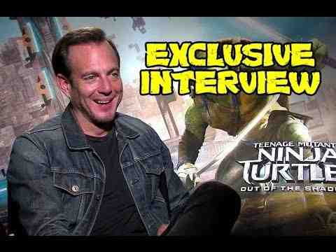 Teenage Mutant Ninja Turtles: Out of the Shadows - Will Arnett Interview