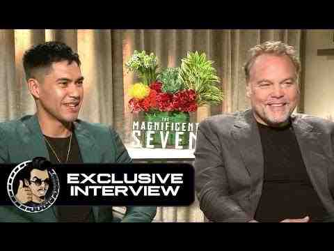 The Magnificent Seven - Vincent D'Onofrio & Martin Sensmeier Interview