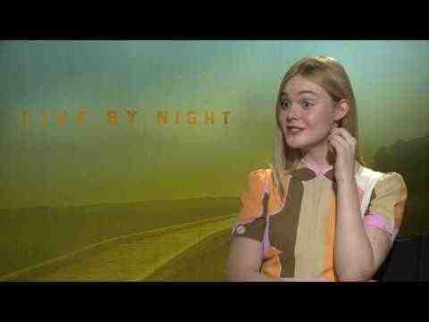 Live by Night - Elle Fanning Interview