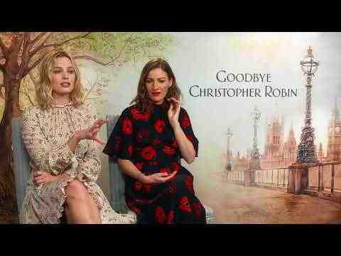Goodbye Christopher Robin - Margot Robbie & Kelly Macdonald Interview