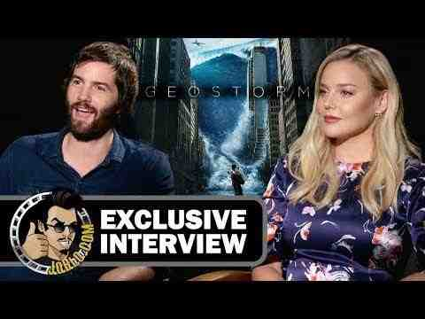 Geostorm - Jim Sturgess and Abbie Cornish Interview