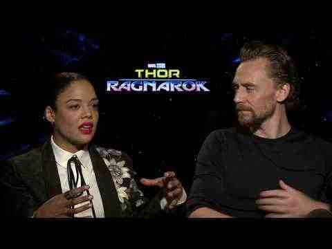 Thor: Ragnarok - Tessa Thompson & Tom Hiddleston Interview