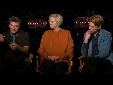 Star Wars: The Last Jedi - Domhnall Gleeson, Gwendoline Christie & Andy Serkis Interview