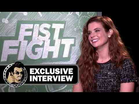 Fist Fight - JoAnna Garcia Swisher Interview