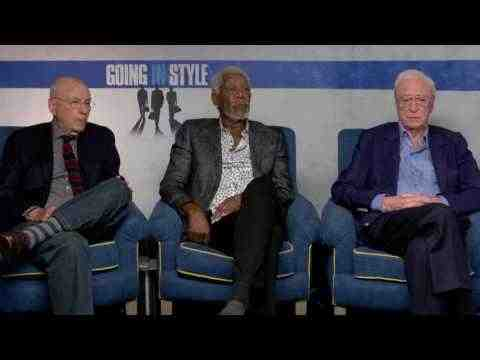 Going in Style - Morgan Freeman, Michael Caine & Aaron Arkin Interview