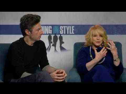 Going in Style - Ann Margret & Zach Braff Interview