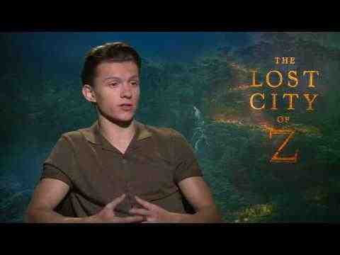 The Lost City of Z - Tom Holland Interview