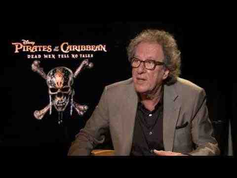 Pirates of the Caribbean: Dead Men Tell No Tales - Geoffrey Rush Interview