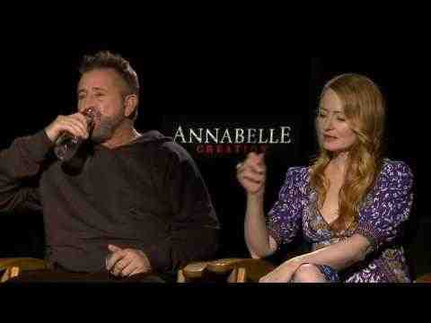 Annabelle: Creation - Anthony LaPaglia & Miranda Otto Interview