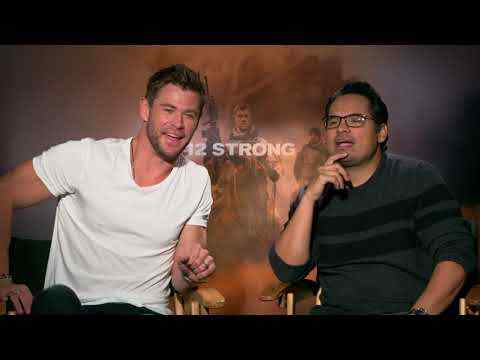 12 Strong - Chris Hemsworth & Michael Pena Interview