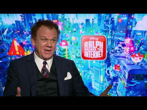 Ralph Breaks the Internet: Wreck-It Ralph 2 - John C. Reilly Interview