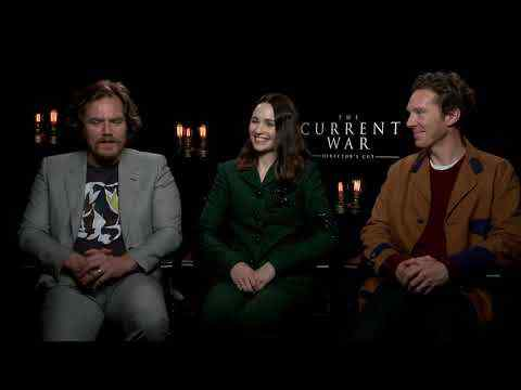 The Current War - Tuppence Middleton, Michael Shannon & Benedict Cumberbatch Interview