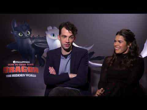 How to Train Your Dragon: The Hidden World - America Ferrera & Jay Baruchel Interview
