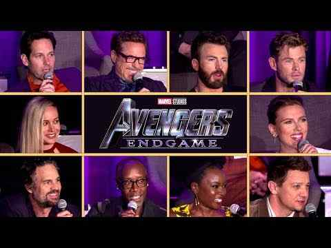 Avengers: Endgame - Full Cast Interview Conference