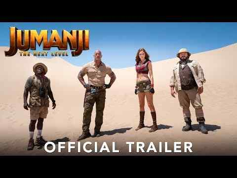 Jumanji: The Next Level - trailer 1