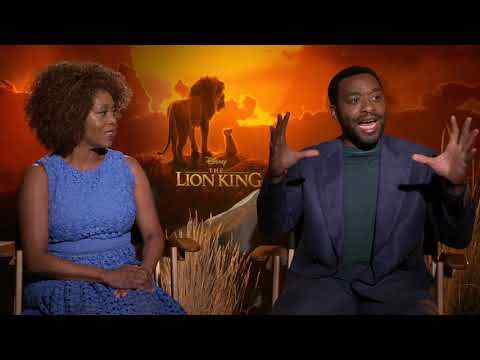 The Lion King - Chiwetel Eijofor & Alfre Woodard Interview