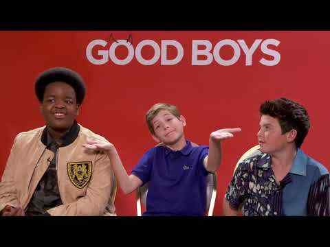 Good Boys - Jacob Tremblay, Brady Noon, & Keith Williams Interview