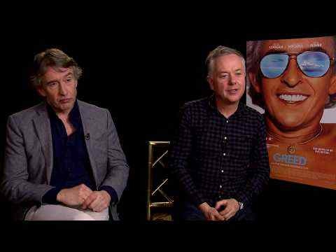 Greed - Steve Coogan & director Michael Winterbottom interview