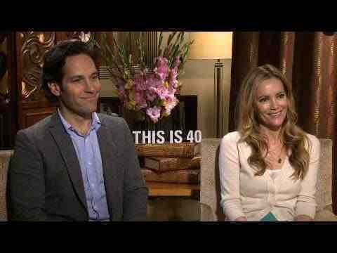 This Is 40 - Paul Rudd and Leslie Mann Interview