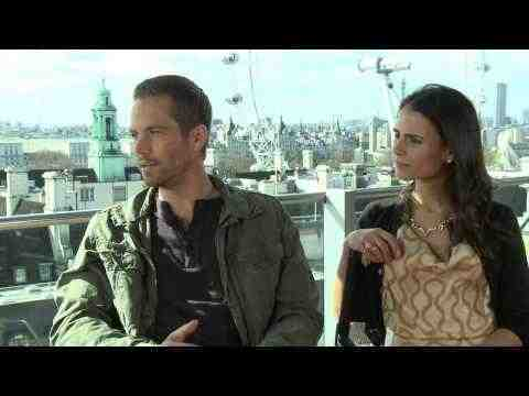 Fast and the Furious 6 - Paul Walker & Jordan Brewster Interview