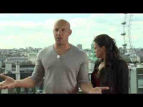 Fast and the Furious 6 - Vin Diesel & Michelle Rodriguez Interview