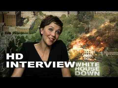 White House Down - Maggie Gyllenhaal Interview