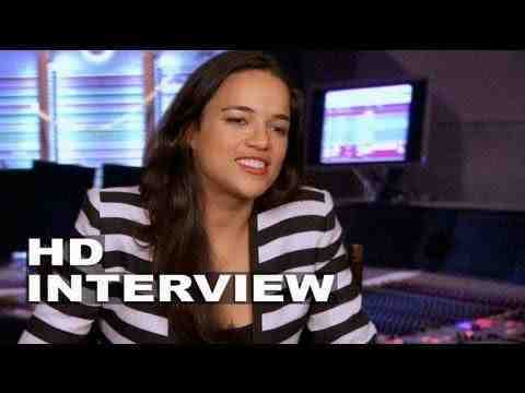 Turbo - Michelle Rodriguez Interview