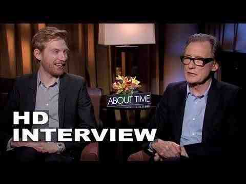 About Time - Domhnall Gleeson & Bill Nighy Interview
