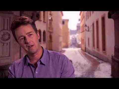 The Grand Budapest Hotel - Edward Norton Interview