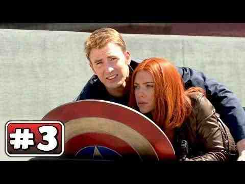 Captain America: The Winter Soldier - Behind the Scenes part 3
