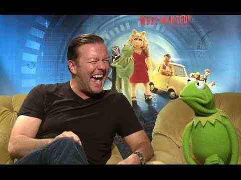 Muppets Most Wanted - Ricky Gervais and Constantine Interview