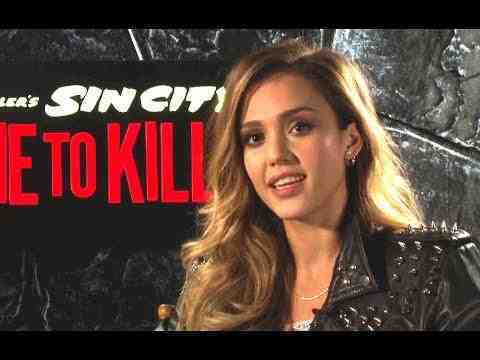 Sin City: A Dame to Kill For - Jessica Alba Interview