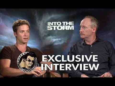 Into the Storm - Jeremy Sumpter & Matt Walsh Interview