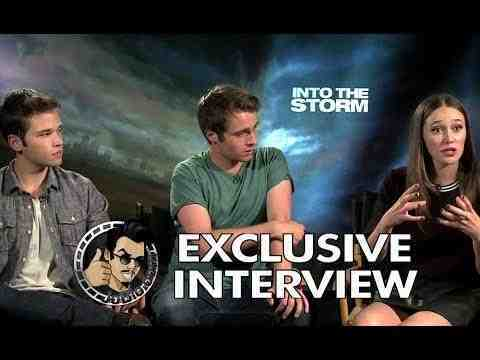 Into the Storm - Max Deacon, Nathan Kress & Alycia Debnam Cary Interview