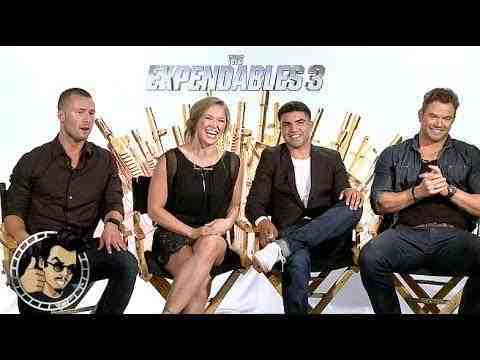 The Expendables 3 - Kellan Lutz, Ronda Rousey, Victor Ortiz, Glen Powell interview