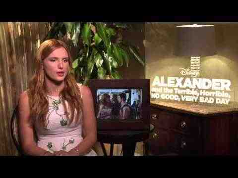 Alexander and the Terrible, Horrible, No Good, Very Bad Day - Bella Thorne Interview