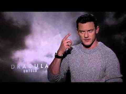 Dracula Untold - Luke Evans Interview