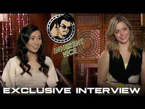 Inherent Vice - Sasha Pieterse and Hong Chau Interview