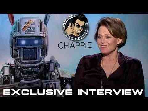 Chappie - Sigourney Weaver Interview