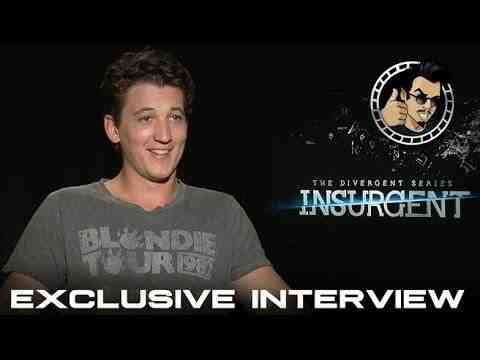 Insurgent - Miles Teller Exclusive Interview