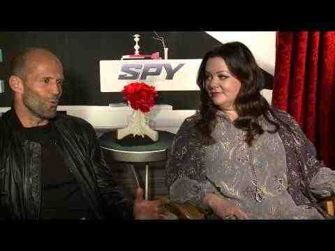 Spy - Melissa McCarthy & Jason Statham Interview