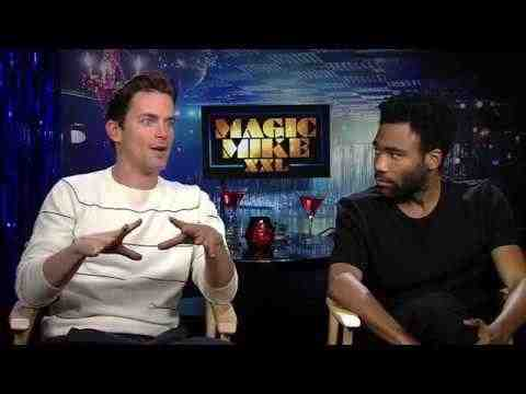 Magic Mike XXL - Matt Bomer & Donald Glover Interview